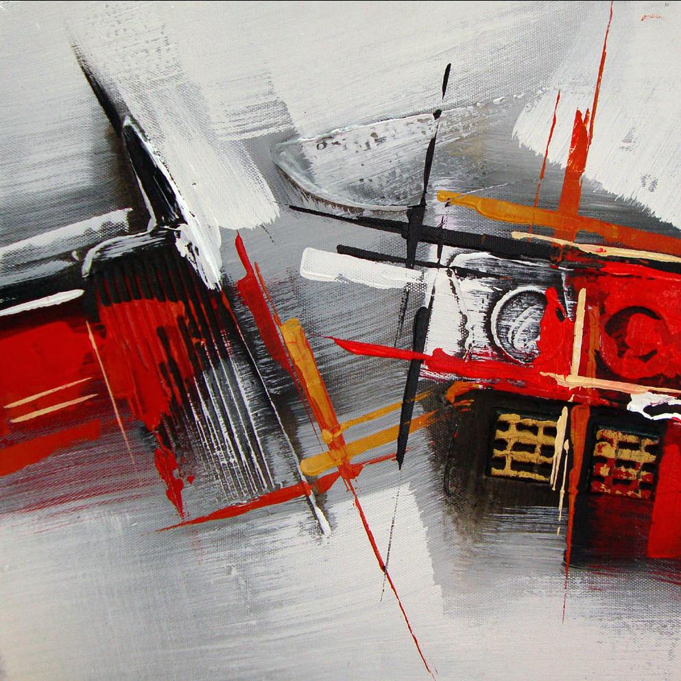 Mon tableau contemporain voque la lumi re - Tableaux tryptiques contemporains ...