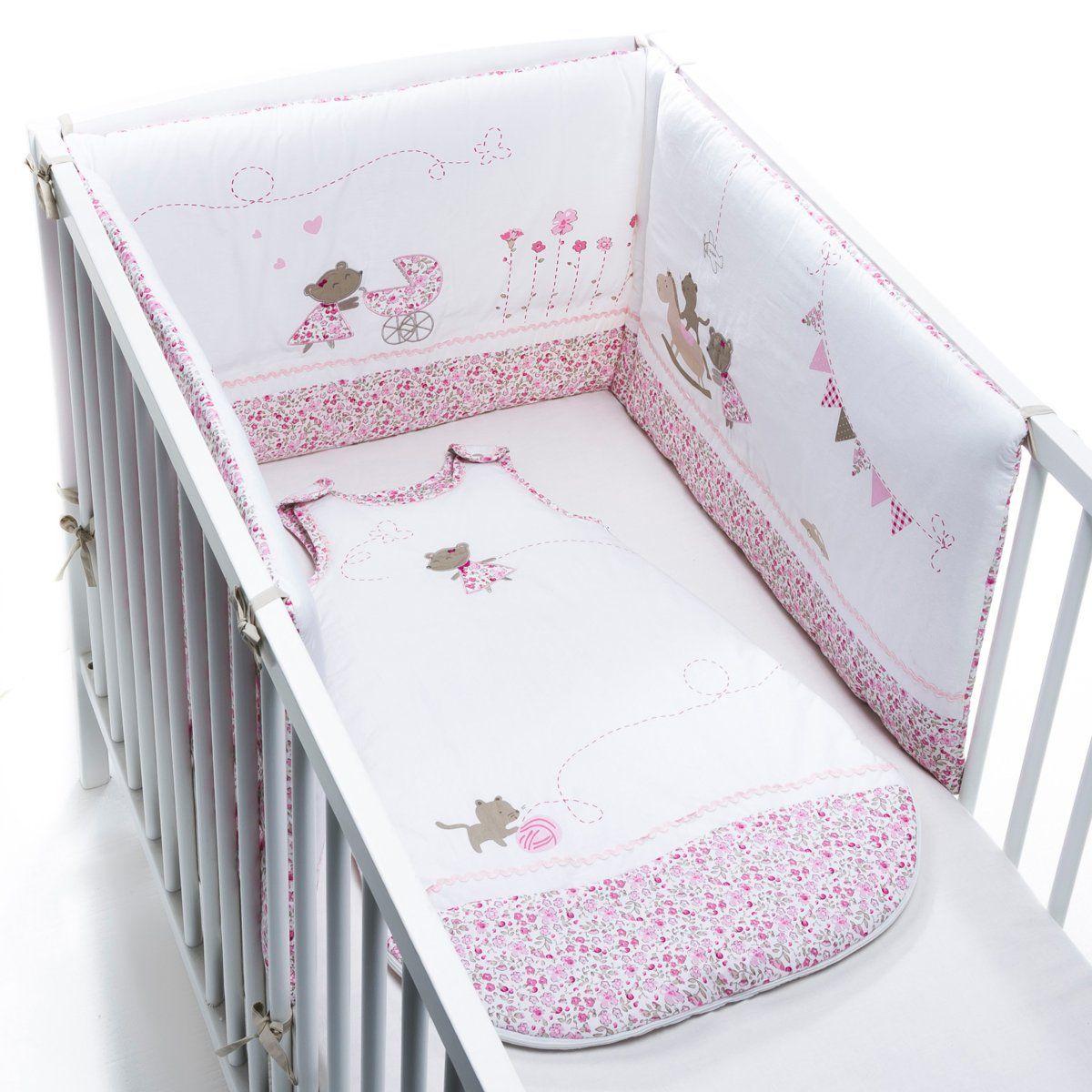 Tour de lit, pour que mon bébé dorme confortablement et en toute