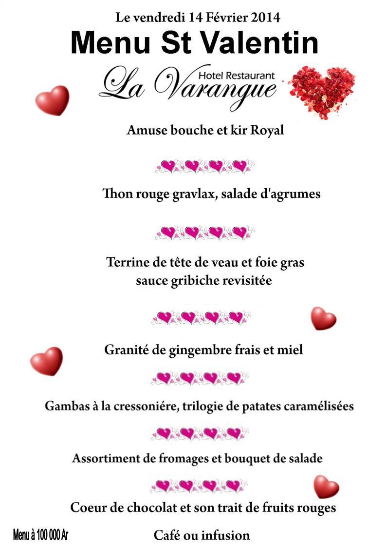 Idée Menu St Valentin Menu saint valentin, votre amoureux va être charmé !