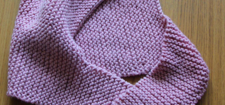bonnet echarpe tricot