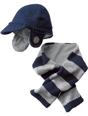 bonnet et echarpe bebe garcon