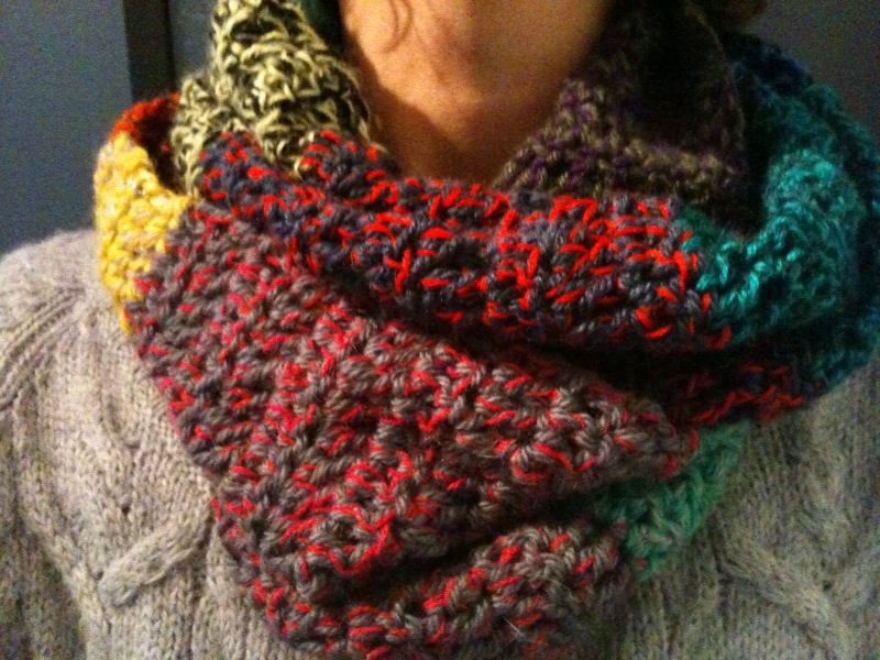 Echarpe Au Crochet Facile A Faire Diya Fr