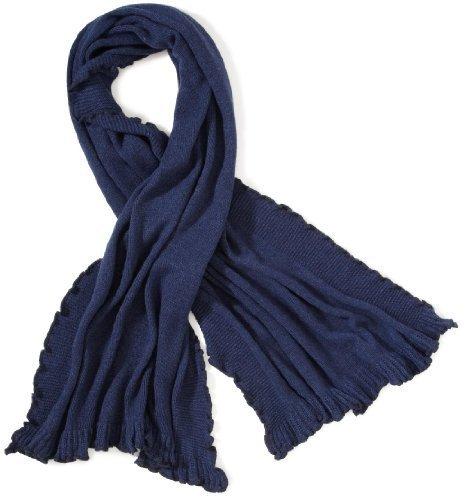 echarpe bleu marine femme