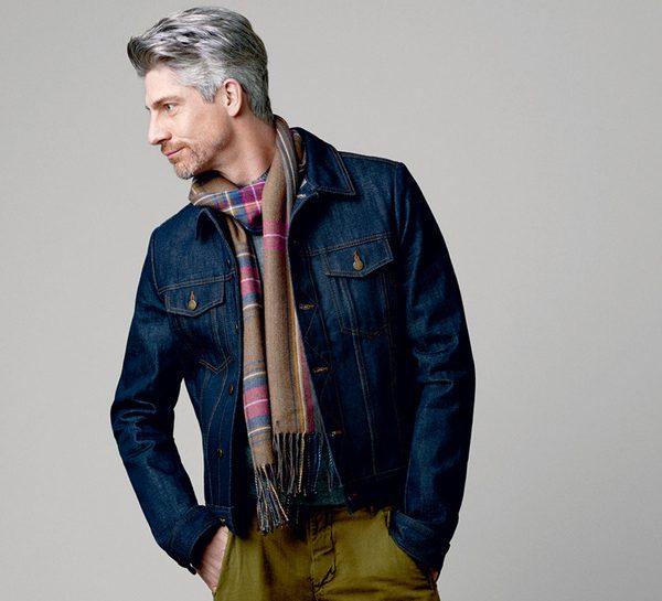 echarpe homme mode