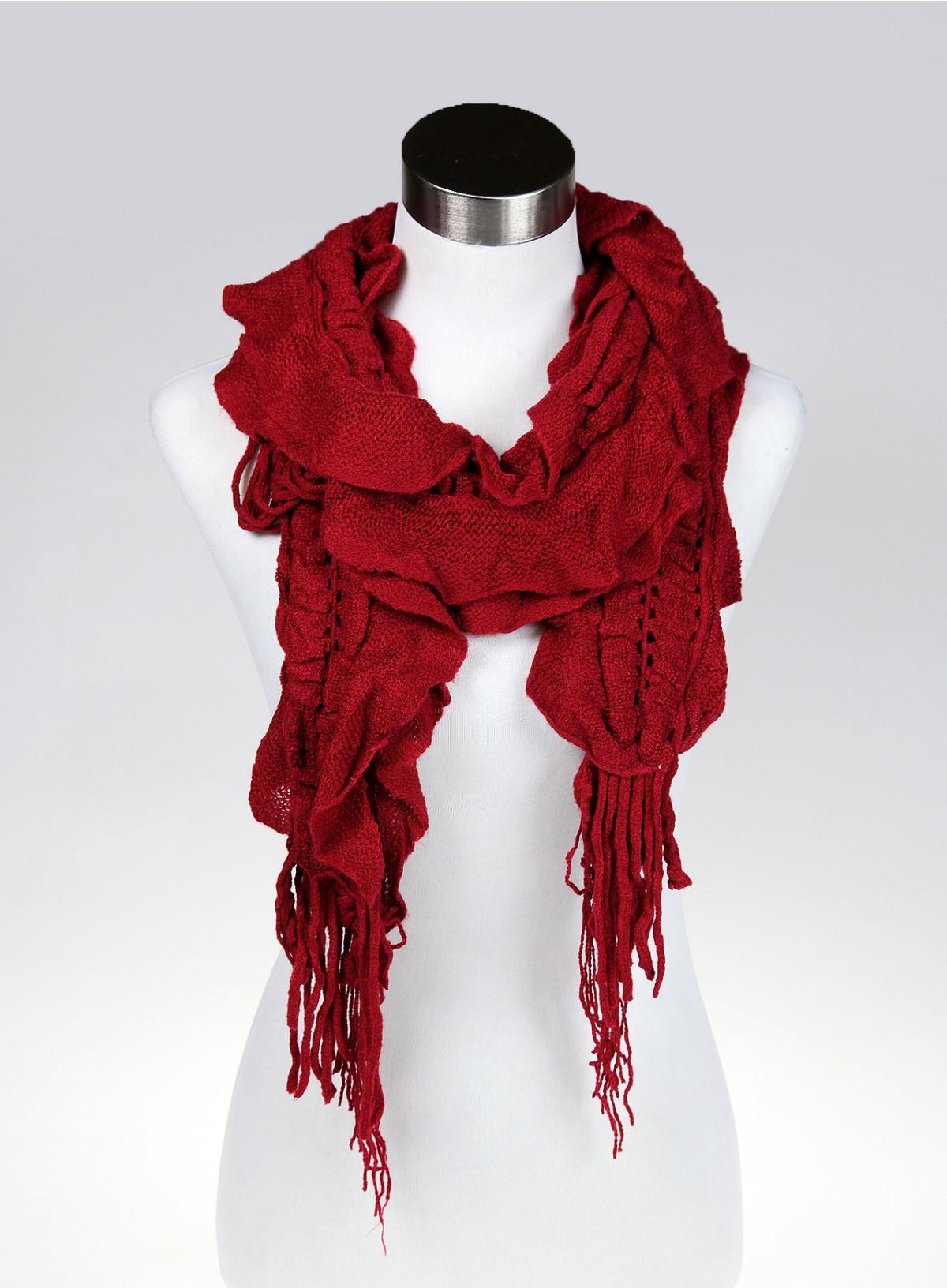 d105f1fbfcc Echarpe femme rouge