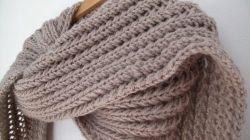 echarpe tricot gratuit