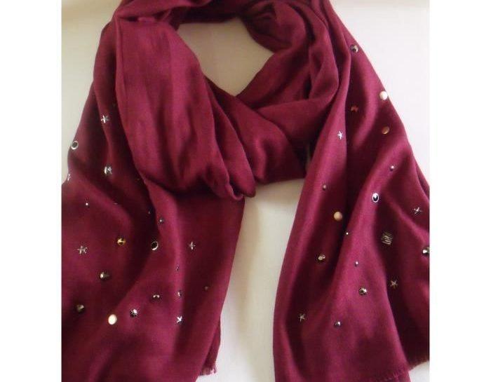 foulard echarpe femme