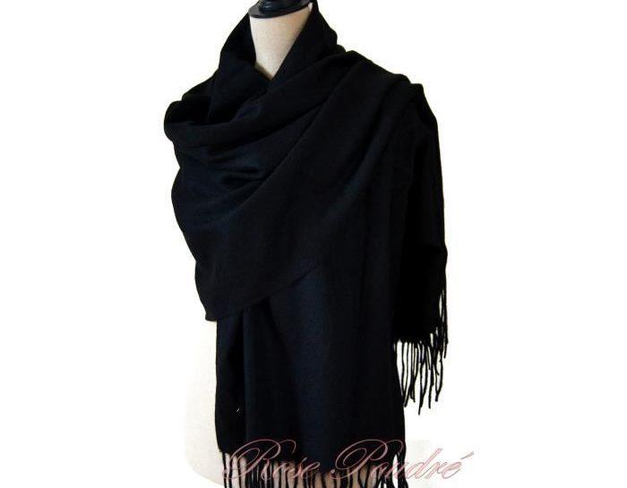 grande echarpe laine