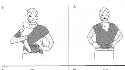 nouer echarpe de portage